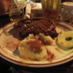NY Steak with Mashers