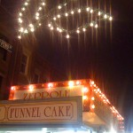 Funnel Cake is pretty much a giganic Zeppole.