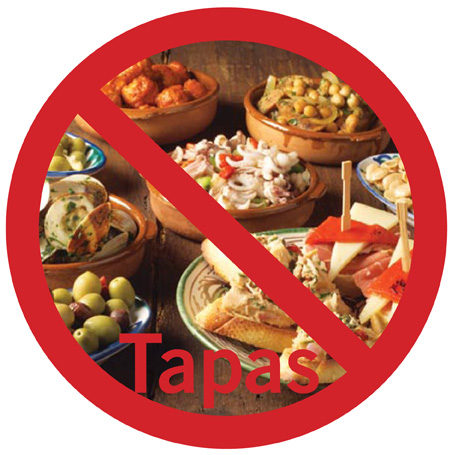 No Tapas for me