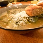 Yum! Escarole and White Bean Soup