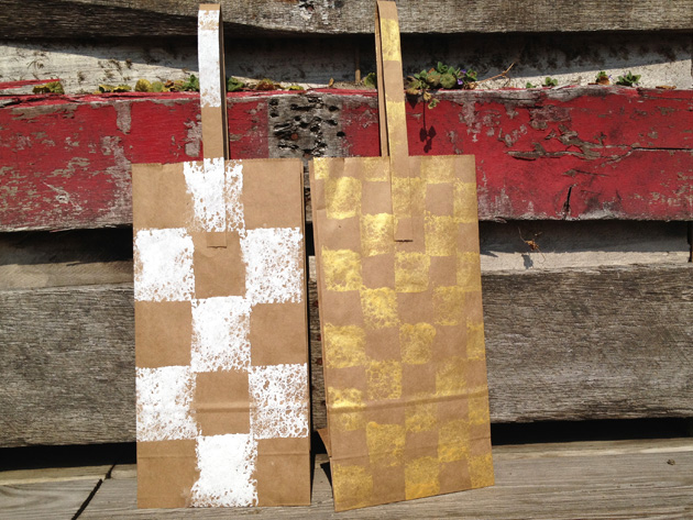 Wine Bag Craft!