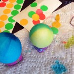 Colored Easter Eggs!