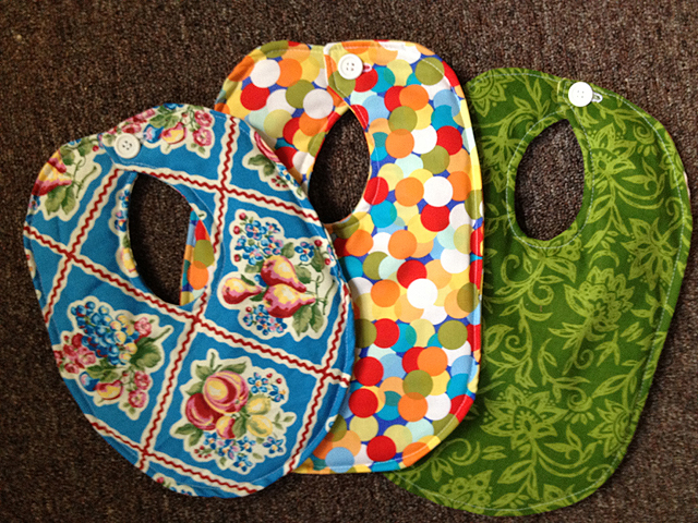 Baby Bibs for sale at the Onderdonk House