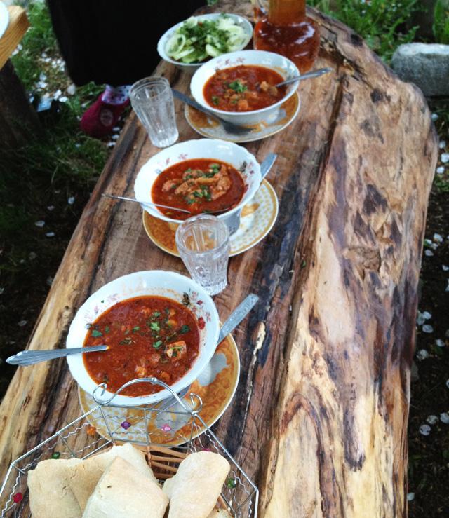 Georgian Dinner