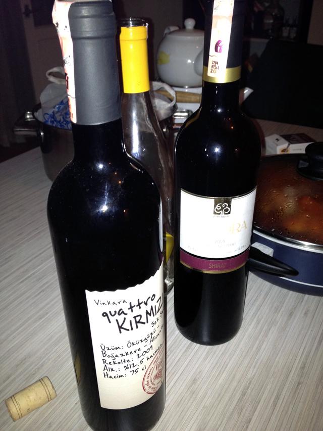 Istanbul wine