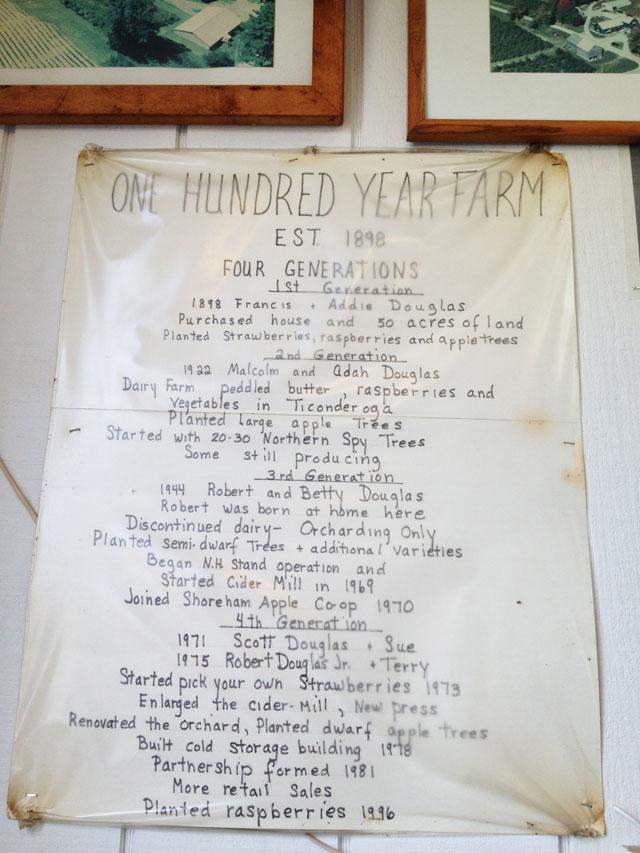 Douglas Orchard History