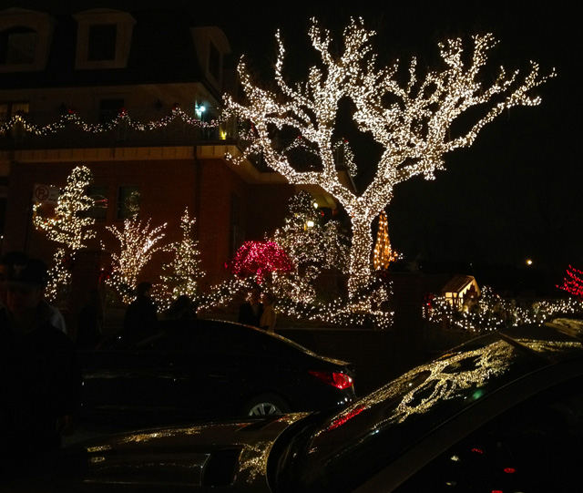 Dyker Heights Brooklyn at Christmas