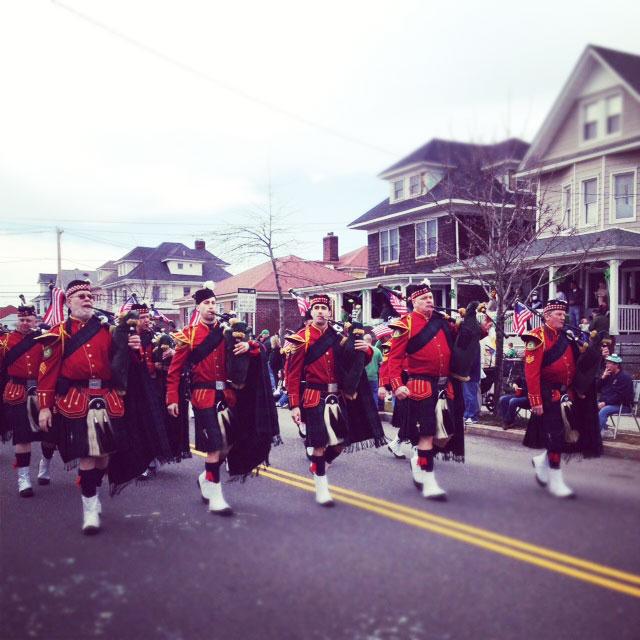 Rockaway St Patricks Day 2012