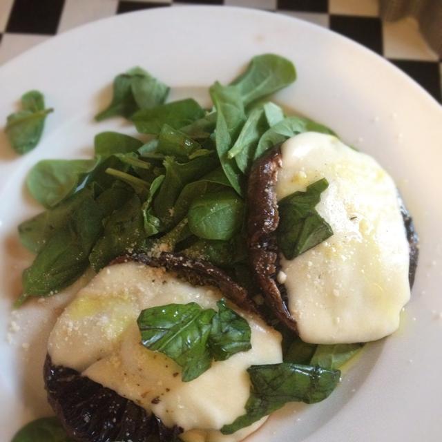 portobello mushroom vegetarian dinner