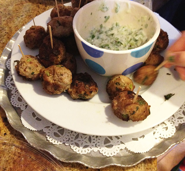... turkey meatballs with cream sauce i made for maureen s rockaway st