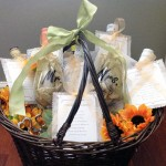 Bridal Shower Wine Basket