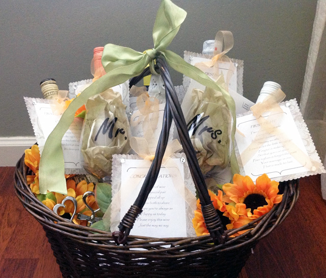 : wine basket wedding gift - medton.org
