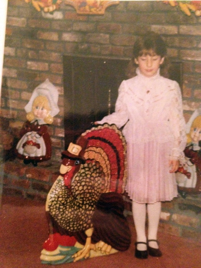 Thanksgiving 1988 or so