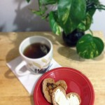 Valentines Day Heart Toast