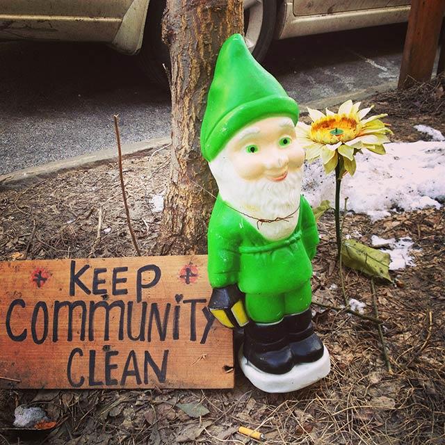 keep community clean