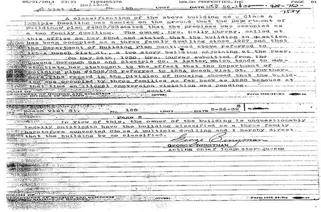 1938 letter
