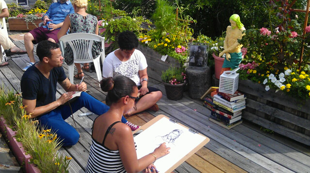 drawing art party