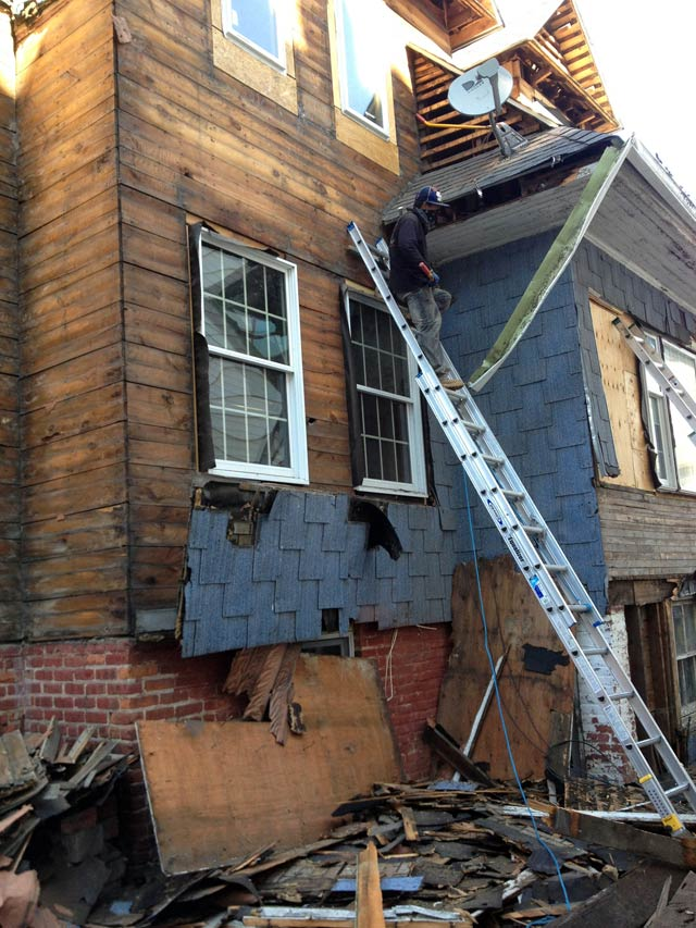 Removal of siding - decades of layers