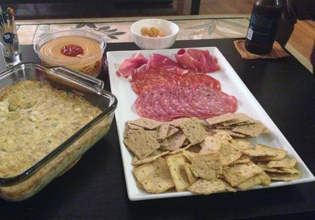 easy three cheese dip