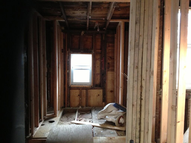 bathroom-gutted