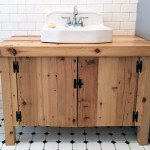 bathroom vanity diy vintage sink