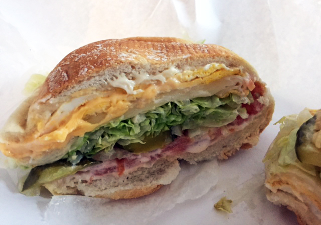 Let me just tell you this is the best no frills veggie sandwiches I ...