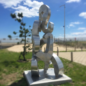 14 sculpture rockaway beach