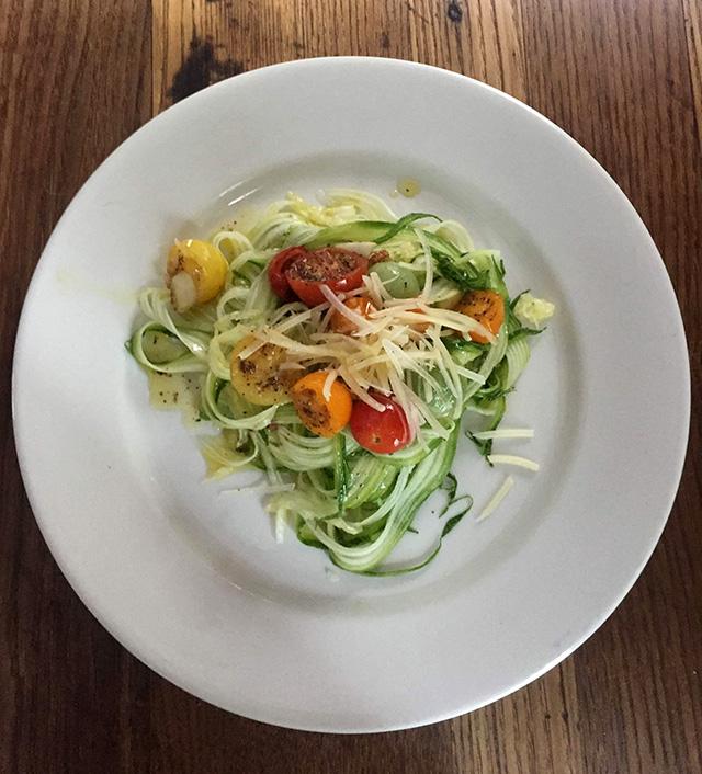 Zucchini-Linguine-Aglio-Olio