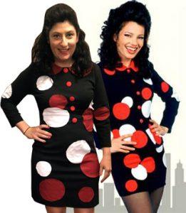the nanny polka dots