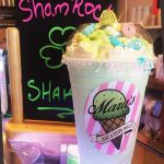 Mara's Ice Cream Parlor-Shamrock-Shake Rockaway Beach