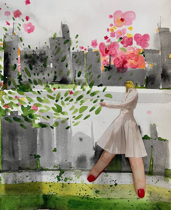 3 Spring in the Cityby Clare Clare Hilger