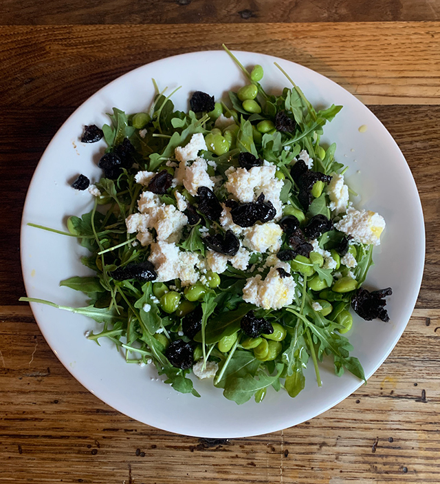 Edamame Olive Salad