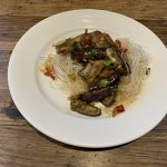 Chinese eggplant with garlic sauce (1)