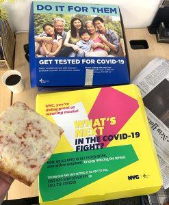 covid 19 pizza box nyc