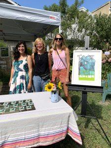 (Left to right), Paula DiGioia, Clare Hilger, Kristi Dickerson